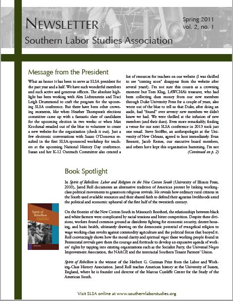 Click here for Spring 2011 Issue