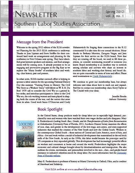Click here for Spring 2012 Issue